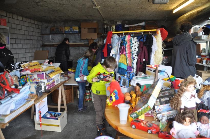 Garagenflohmarkt