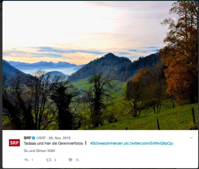 #SchweizImHerzen Fotowettbewerb von Schweizer Radio und FernsehenSRF
