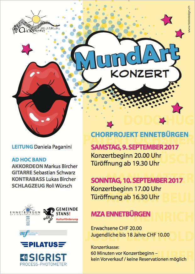 Chorprojekt Ennetbürgen – KonzerteMundArt